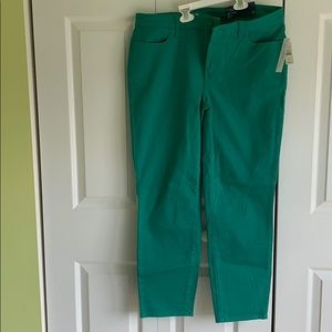 Talbots colored jeans NWT size 12